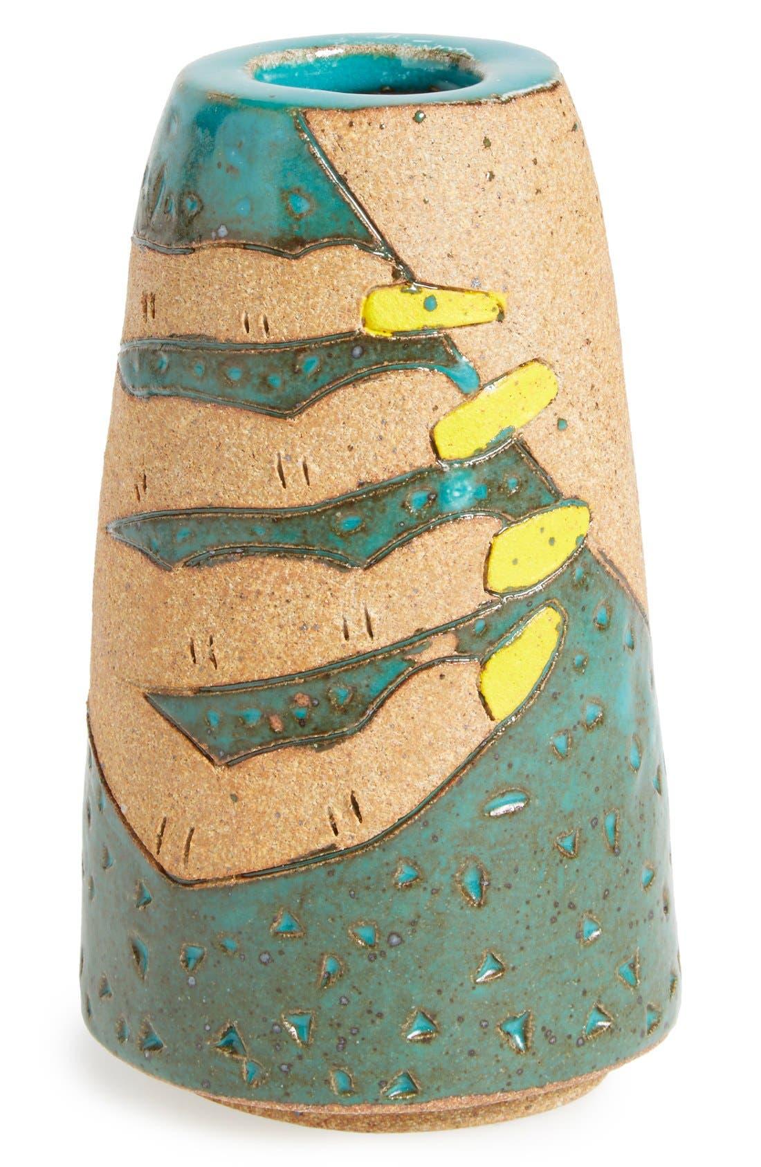 BZIPPY & CO. 'Nails' Handmade Ceramic Vase