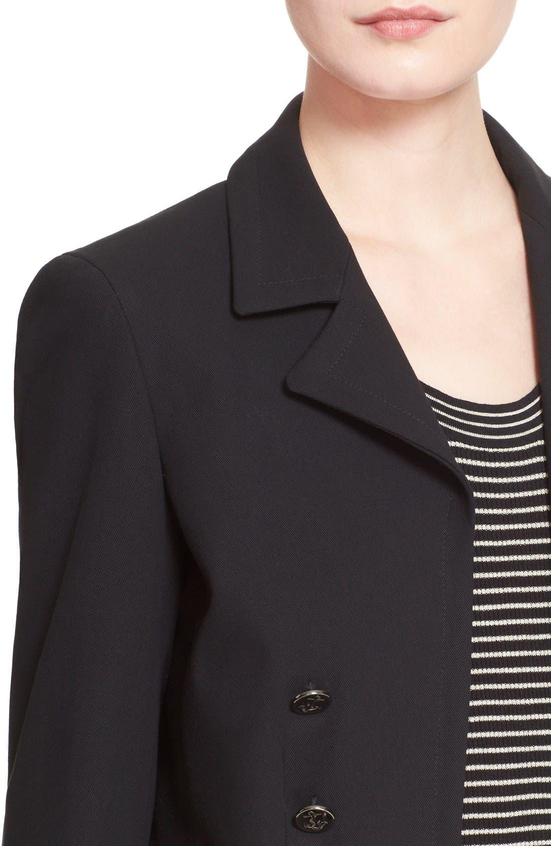 Alternate Image 6  - Max Mara 'Talpa' Stretch Cotton & Linen Jacket