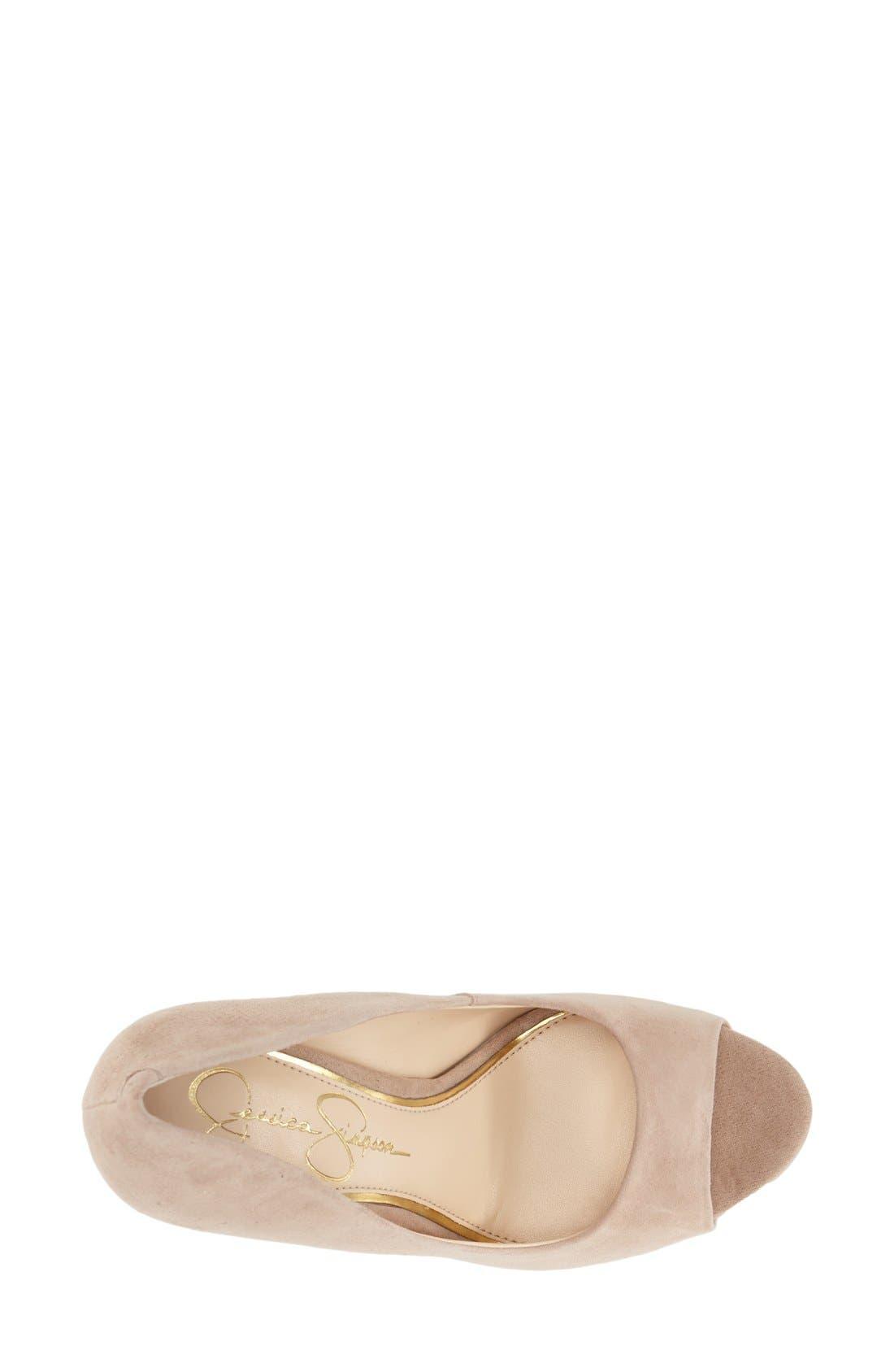 Alternate Image 3  - Jessica Simpson 'Bethani' Wedge Platform Sandal (Women)