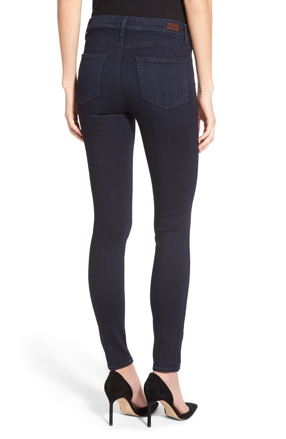 Alternate Image 2  - Paige Denim 'Hoxton' High Rise Ultra Skinny Jeans (Cambria)