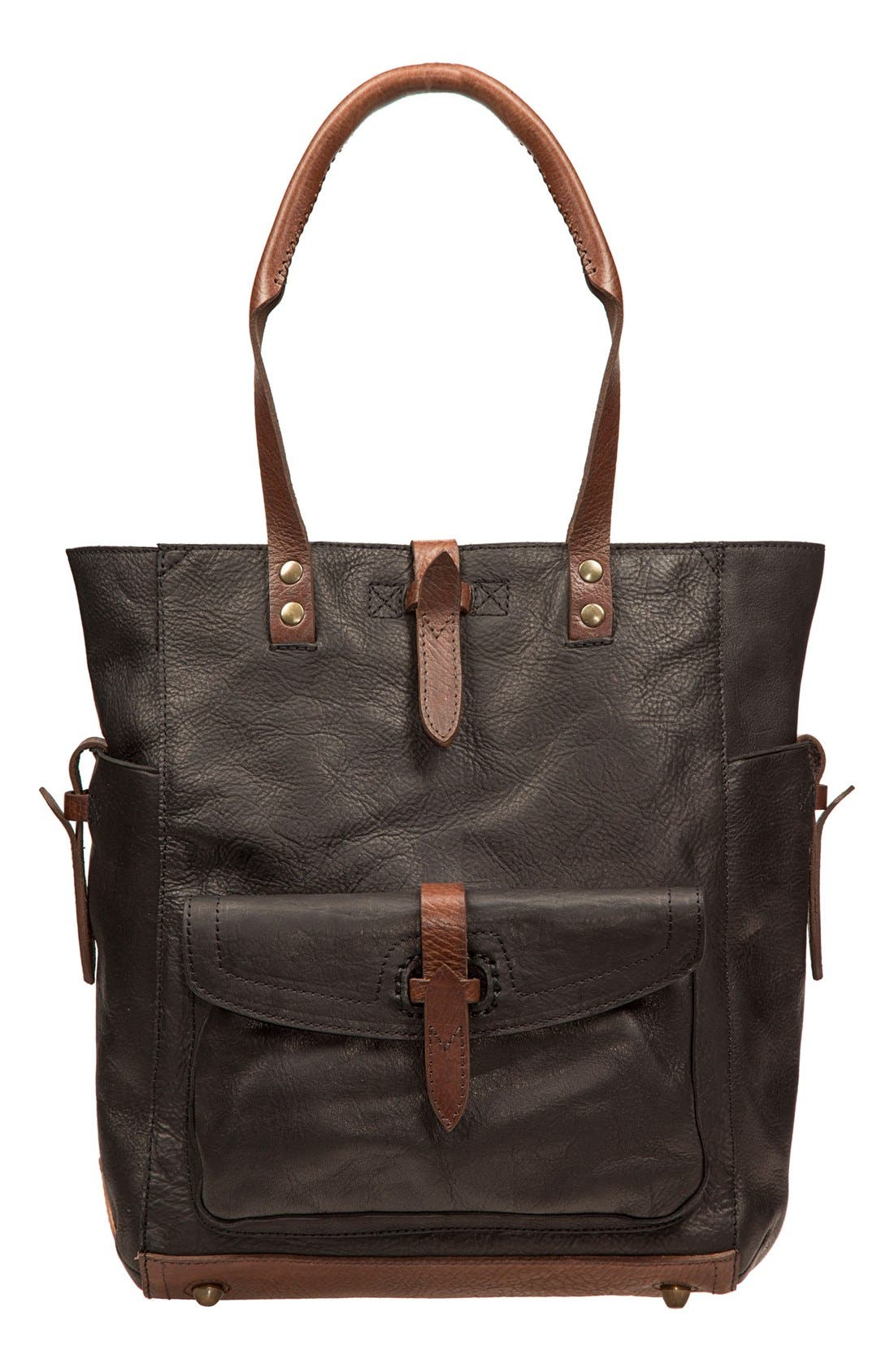 Alternate Image 1 Selected - Will Leather Goods 'Ashland' Leather Tote