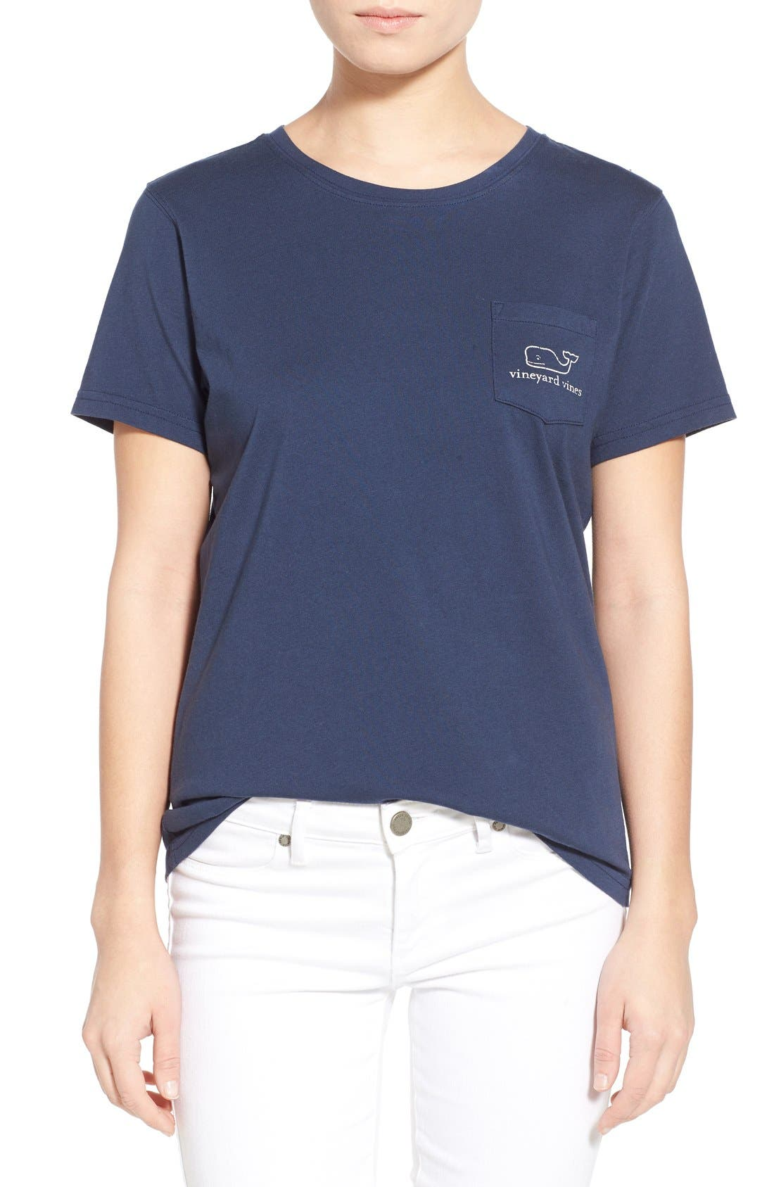 Vineyard Vines Whale Graphic Short Sleeve Pocket Tee