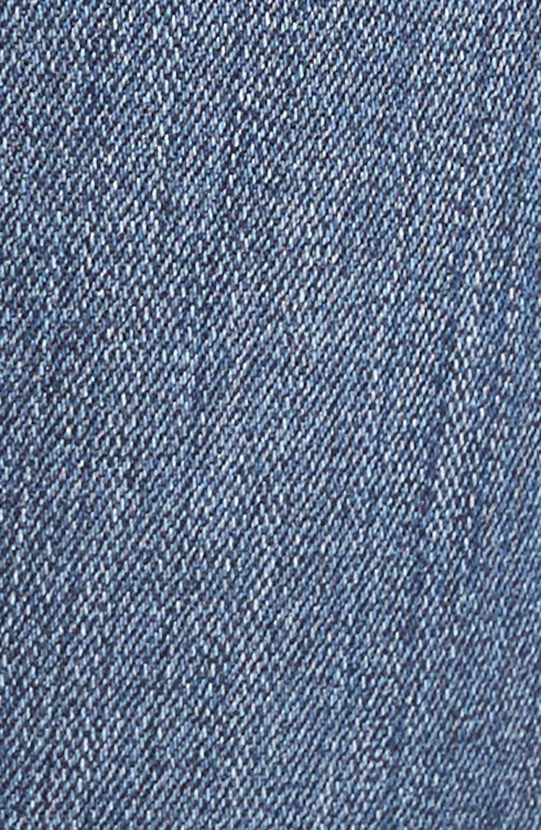 Alternate Image 5  - Paige Denim 'Transcend - Verdugo' Ultra Skinny Jeans (Silas Destructed)