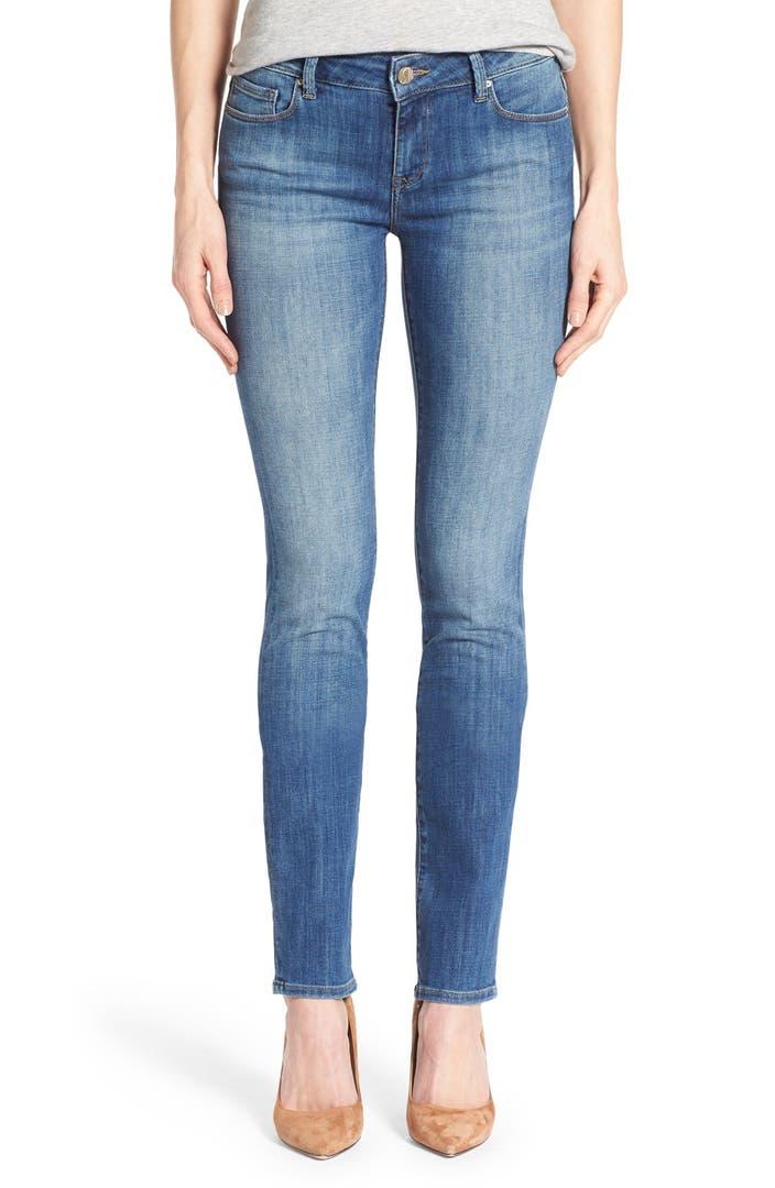 mavi jeans 39 kerry 39 stretch straight leg jeans indigo used. Black Bedroom Furniture Sets. Home Design Ideas