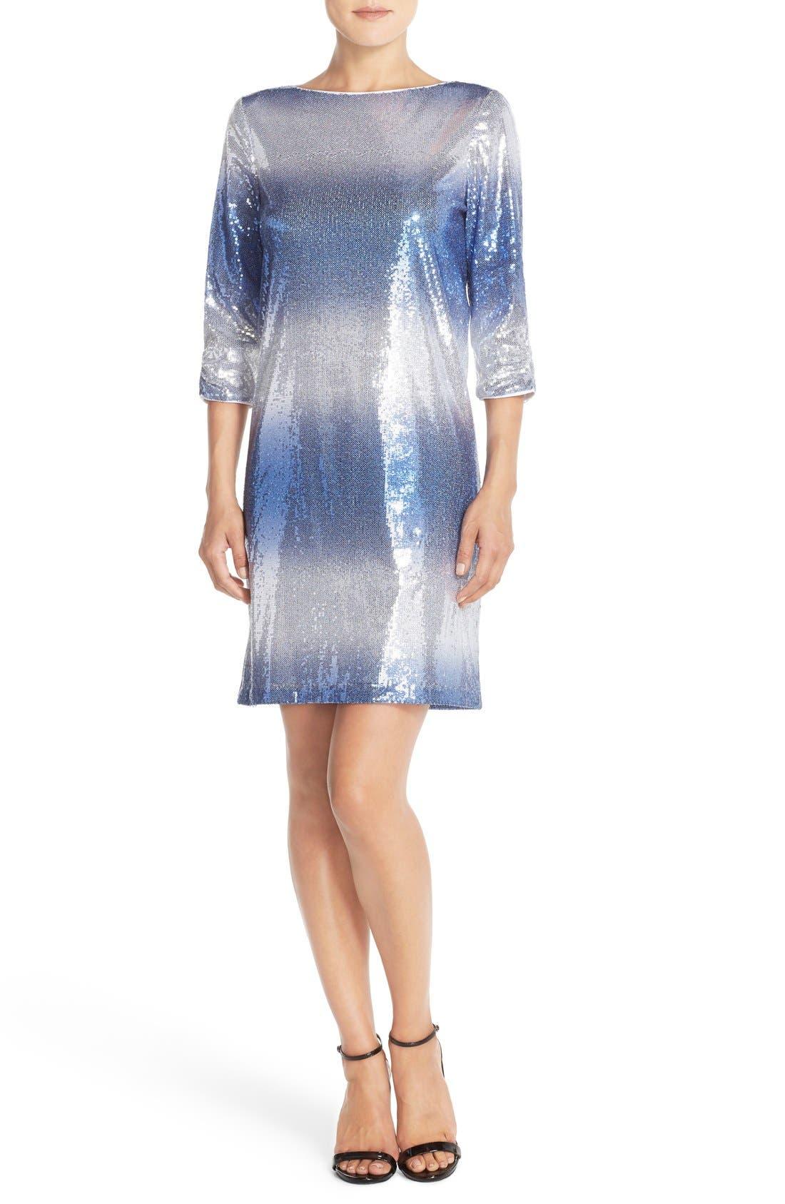 Alternate Image 4  - Maia Stretch Sequin Dress