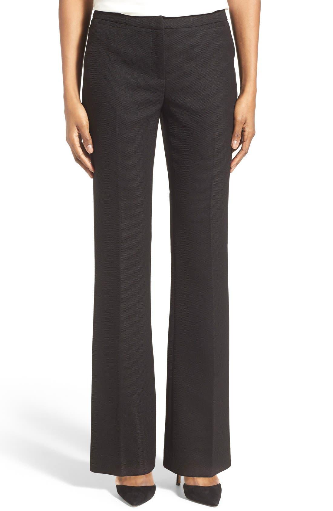 Alternate Image 1 Selected - Halogen® 'Quinn' Diamond Stretch Pants