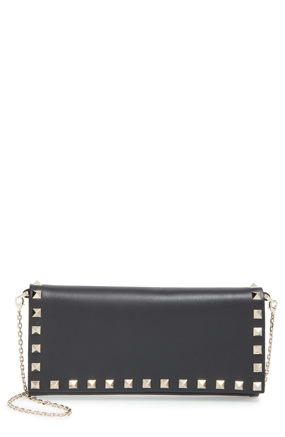 Main Image - Valentino 'Rockstud' Wallet on a Chain