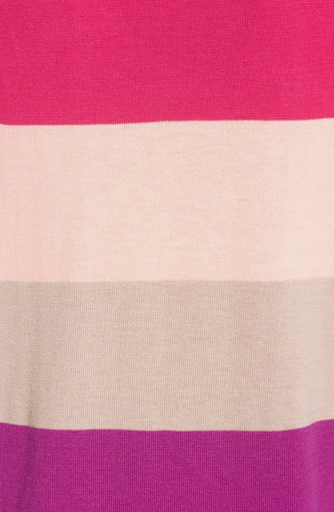 Alternate Image 5  - Caslon® Raglan Crewneck Sweater (Regular & Petite)