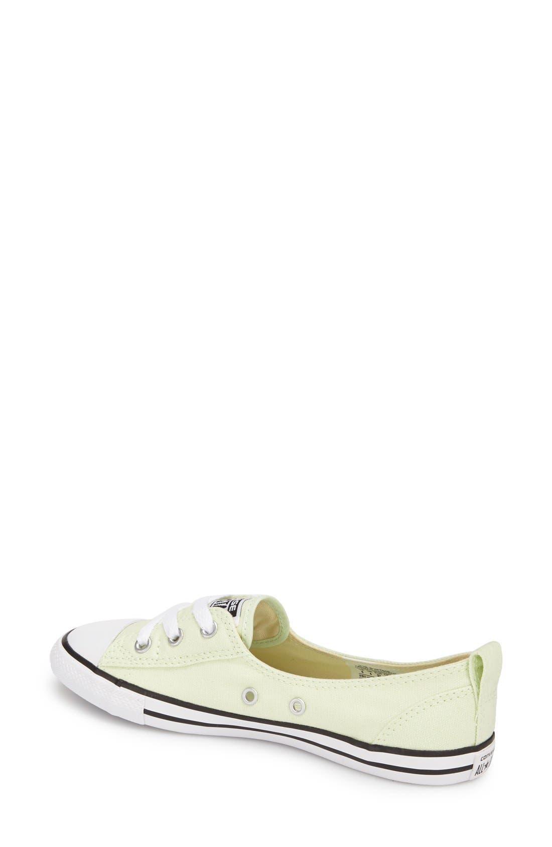Alternate Image 2  - Converse Chuck Taylor® All Star® Ballet Sneaker (Women)