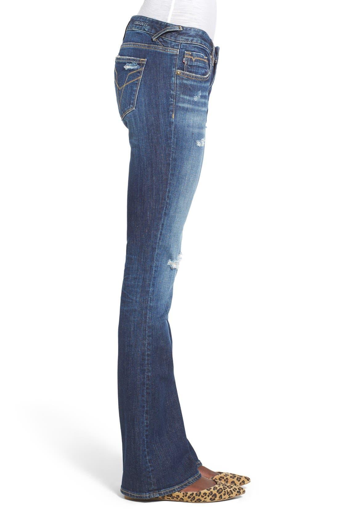 Alternate Image 3  - Vigoss 'Chelsea' Bootcut Jeans (Dark Wash)