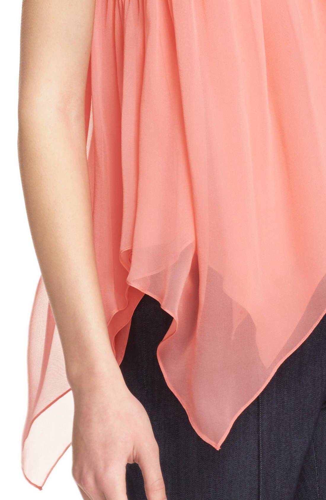 Alternate Image 4  - Elizabeth and James 'Veronique' Silk Top