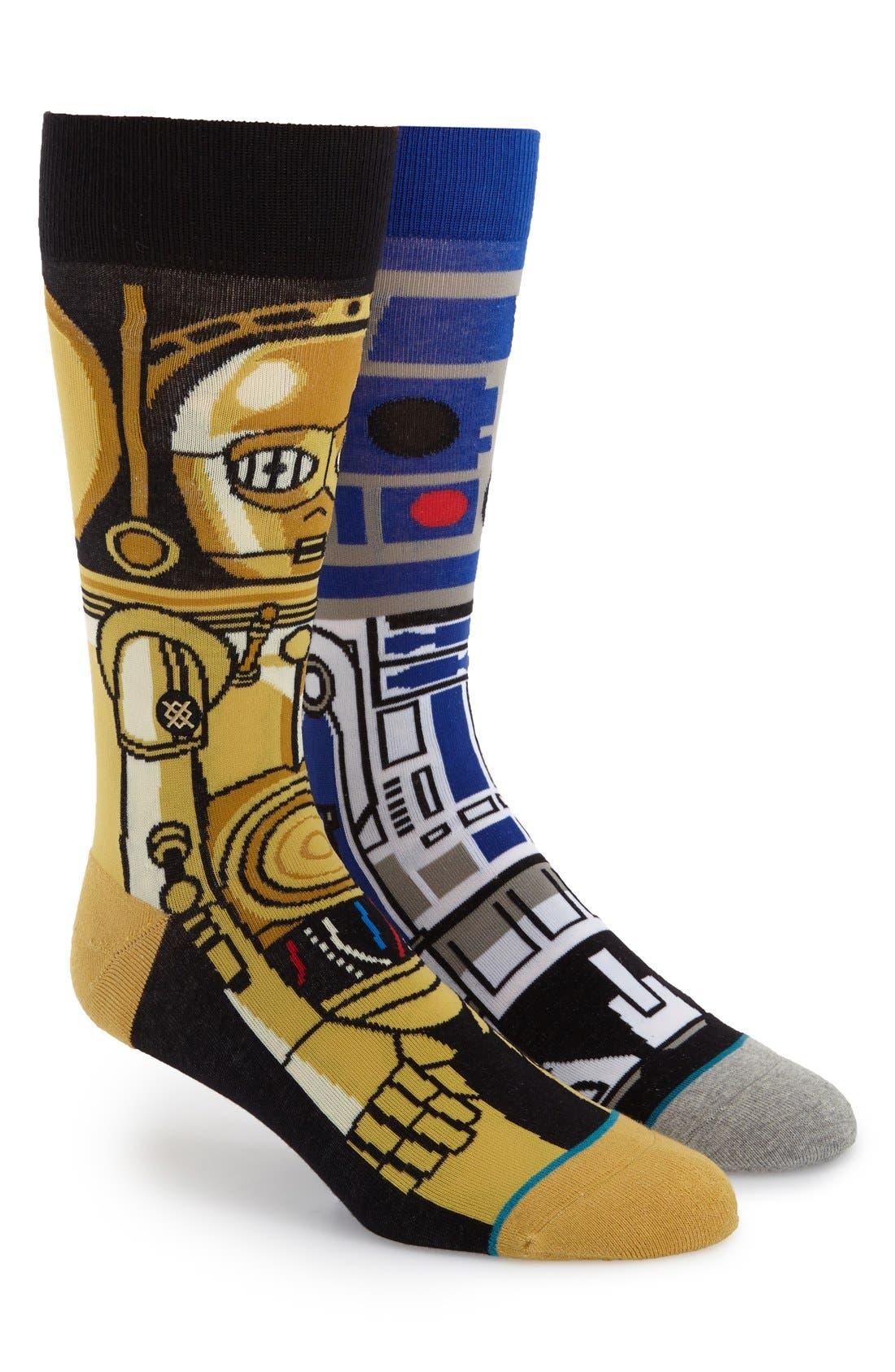 Alternate Image 1 Selected - Stance 'Star Wars™ - Droid' Socks