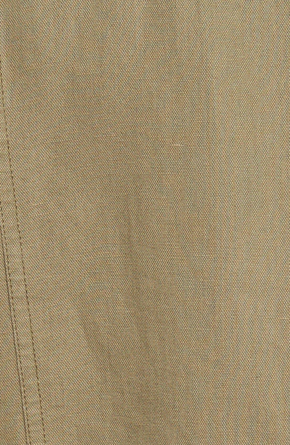 Alternate Image 6  - Paige Denim 'Marjorie' Twill Moto Jacket