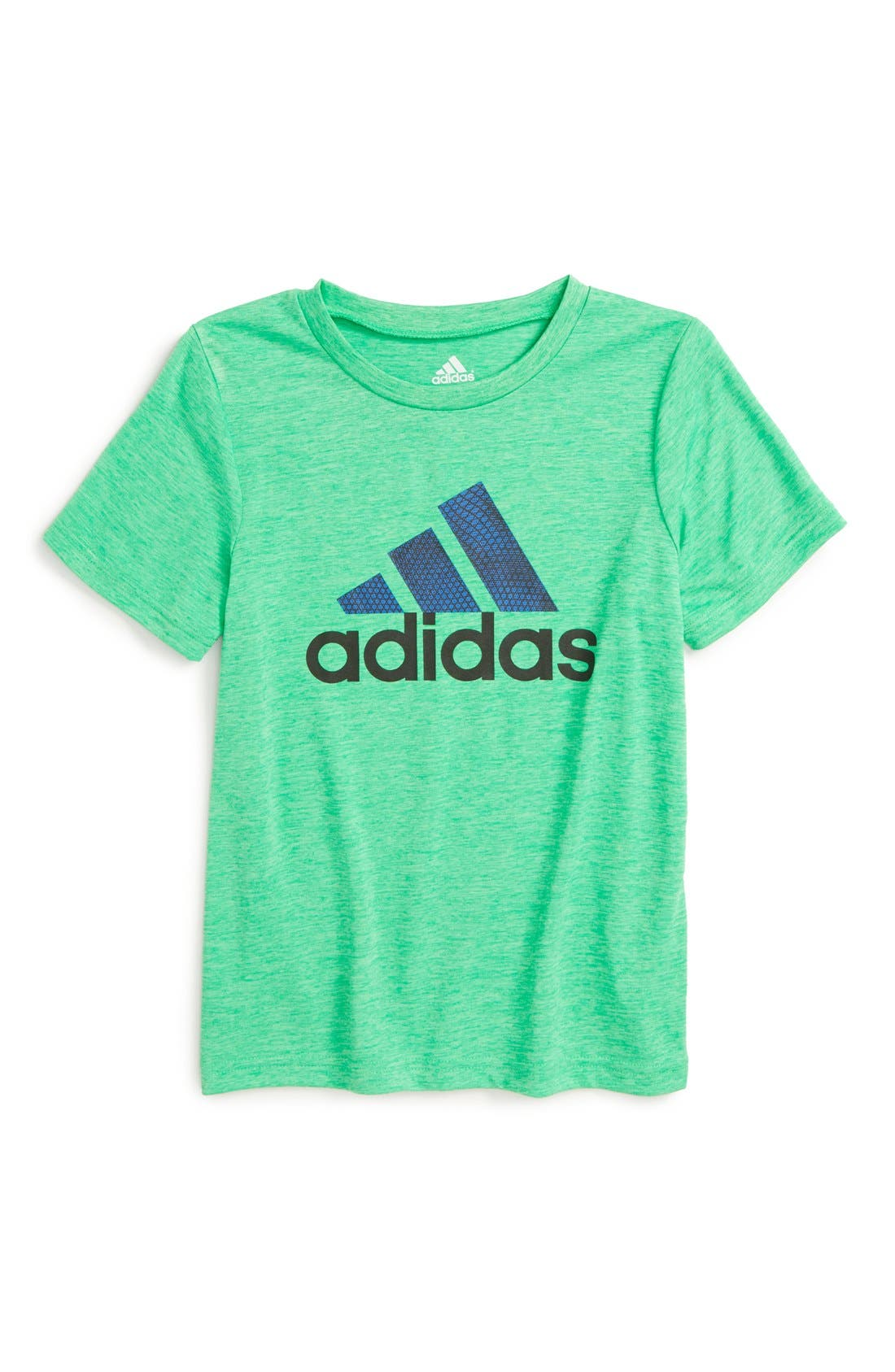 Alternate Image 1 Selected - adidas 'Game On' CLIMALITE® T-Shirt (Toddler Boys & Little Boys)