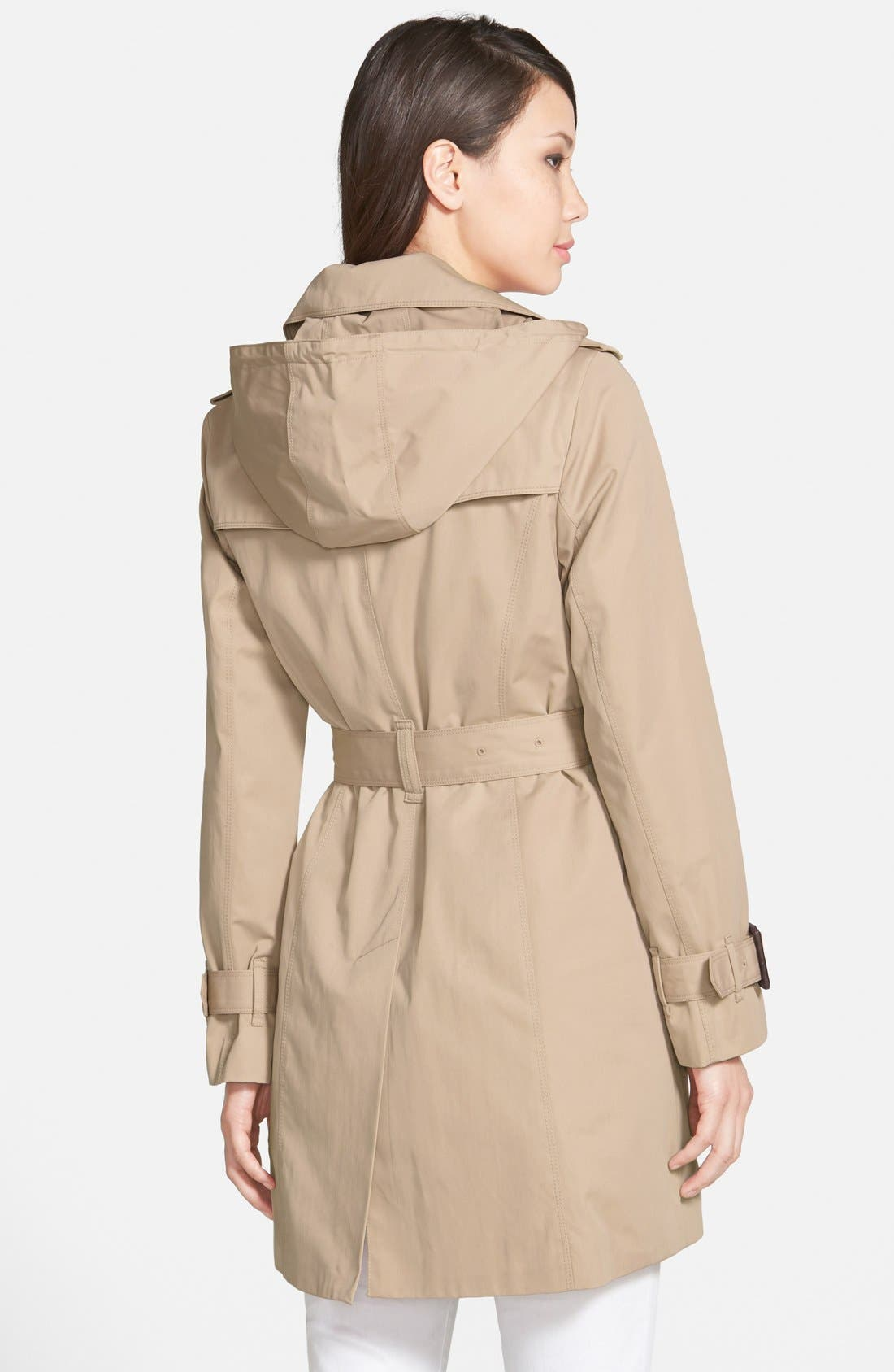 Alternate Image 2  - London Fog Heritage Trench Coat with Detachable Liner (Regular & Petite) (Nordstrom Exclusive)