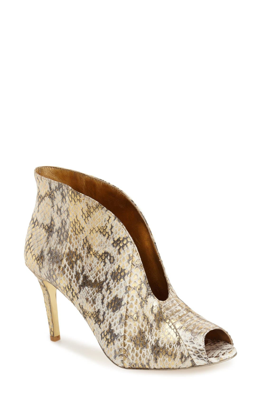 Alternate Image 1 Selected - VC Signature 'Ronan' Peep Toe Bootie