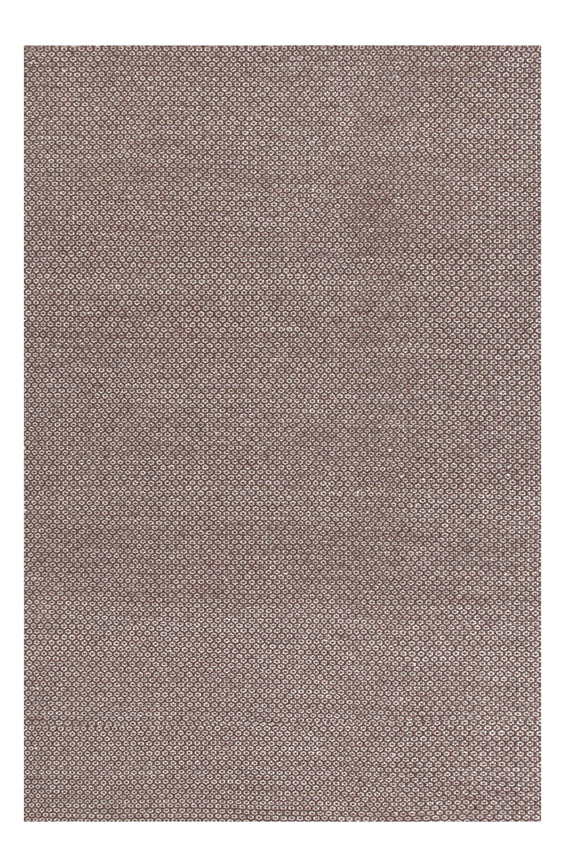 Alternate Image 1 Selected - Dash & Albert 'Honeycomb' Wool Rug