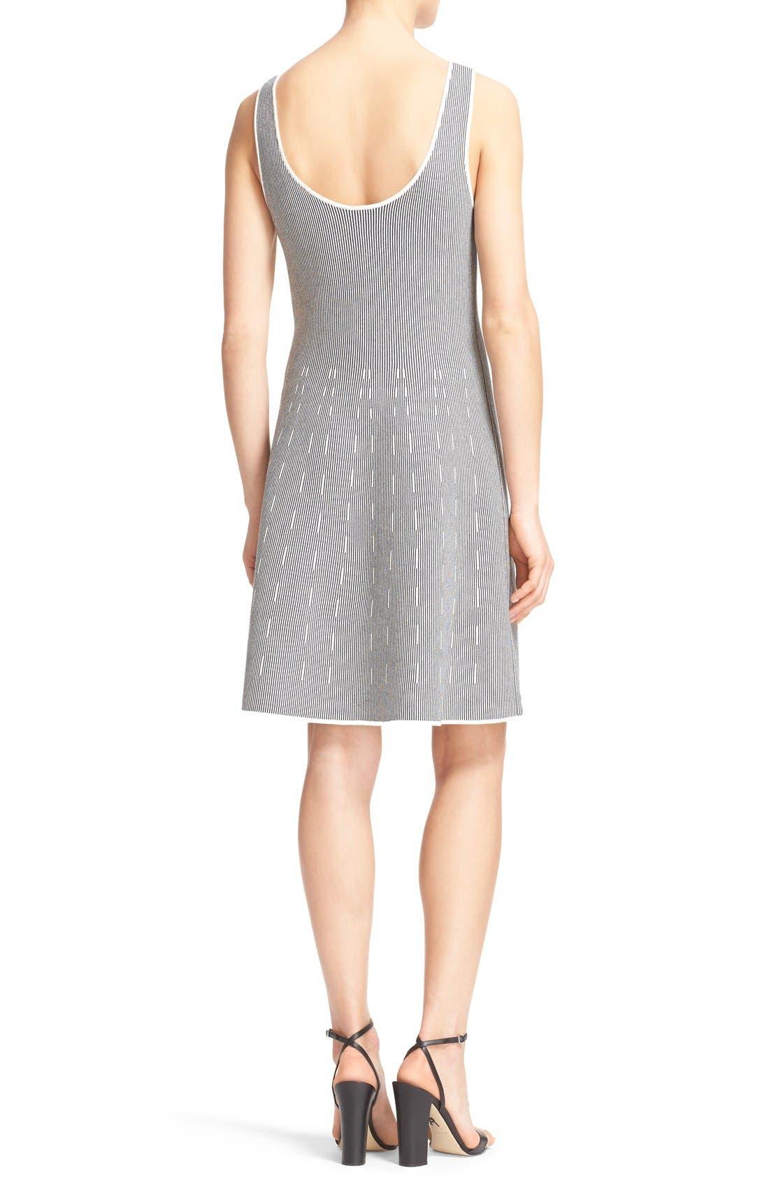 Alternate Image 2  - Theory 'Codris' Knit Fit & Flare Dress