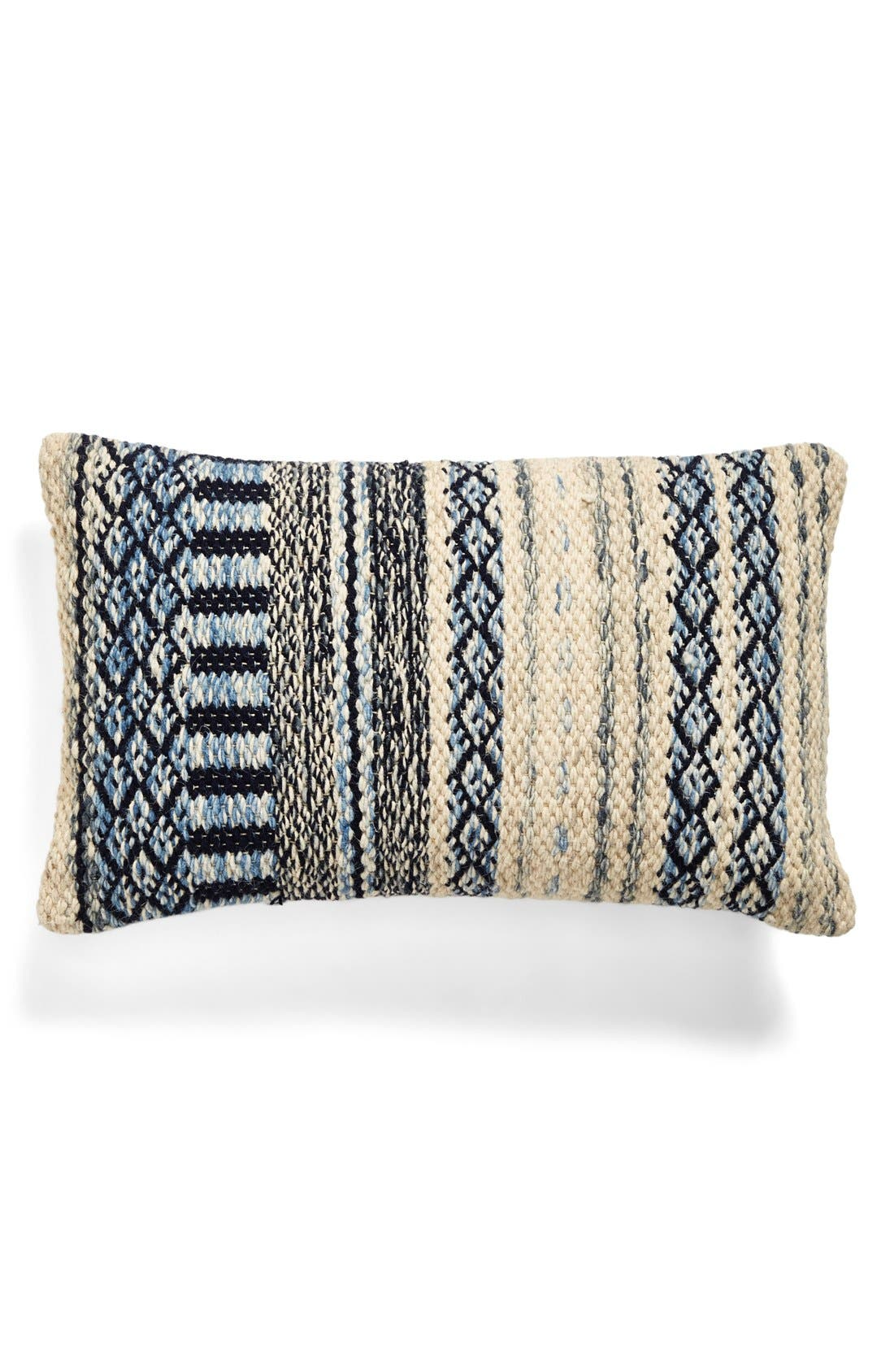 Alternate Image 1 Selected - Brentwood Originals 16 x 26 'Chindi' Woven Pillow