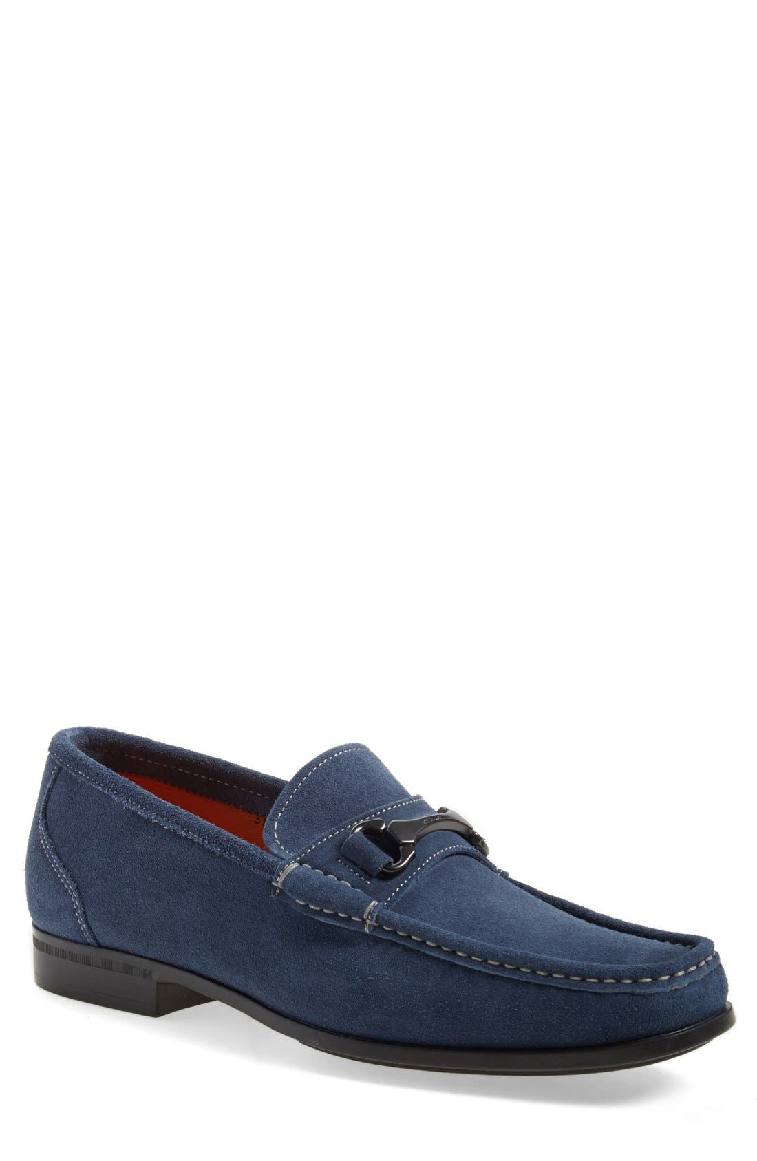 Alternate Image 1 Selected - Santoni 'Tahoe' Bit Loafer
