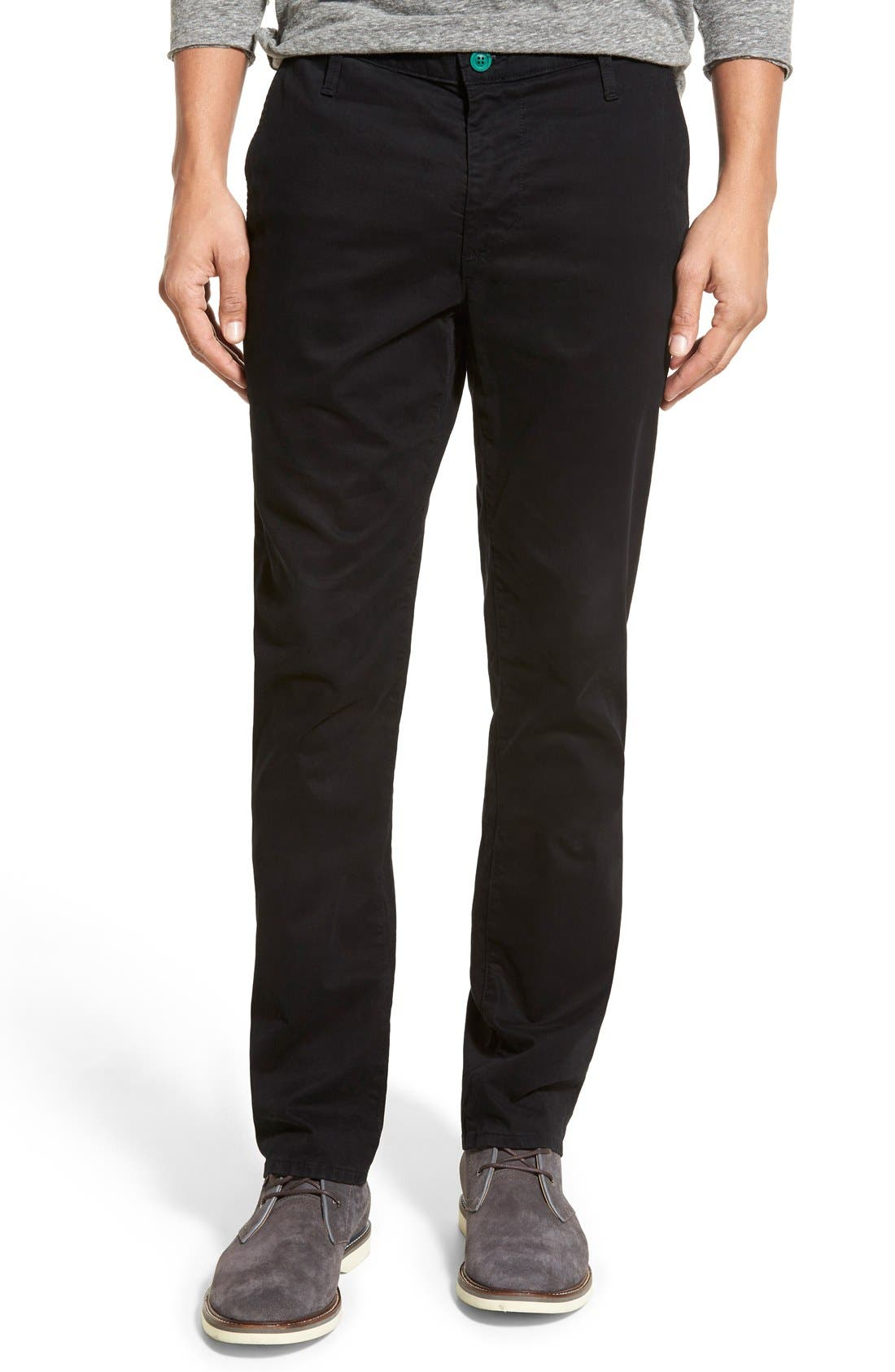 AG Green Label 'Graduate' Slim Straight Leg Golf