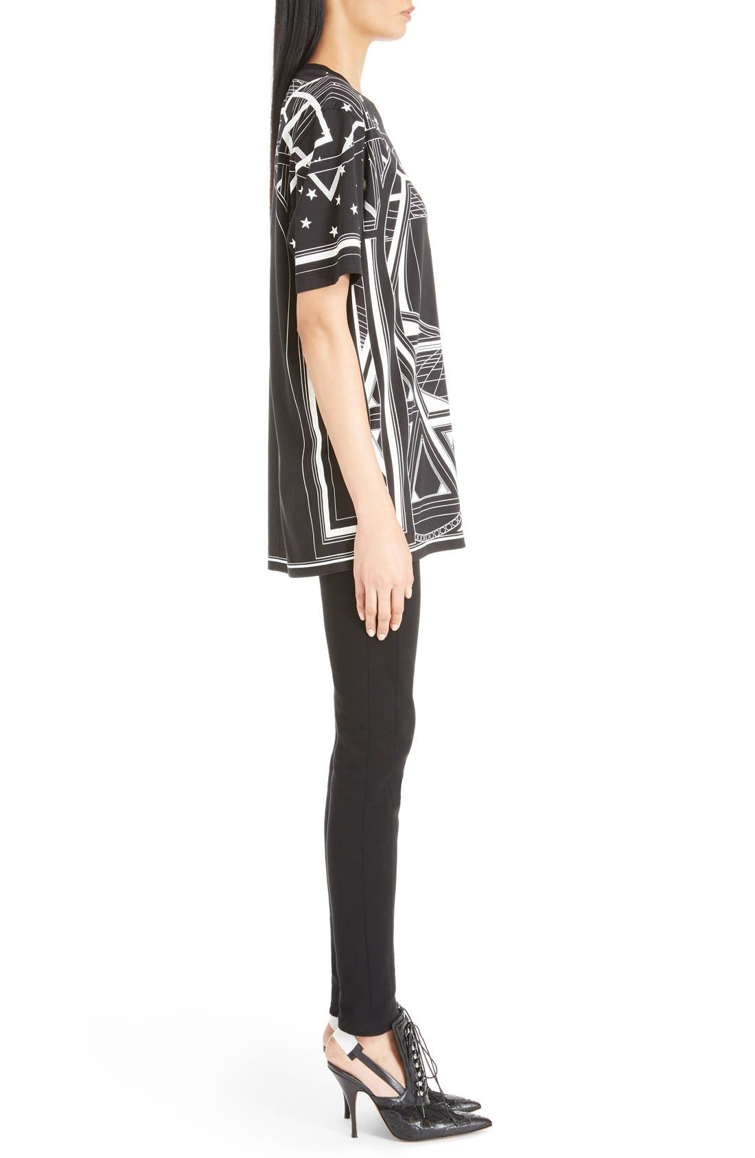 Alternate Image 4  - Givenchy Star & Abstract Print Cotton Tee