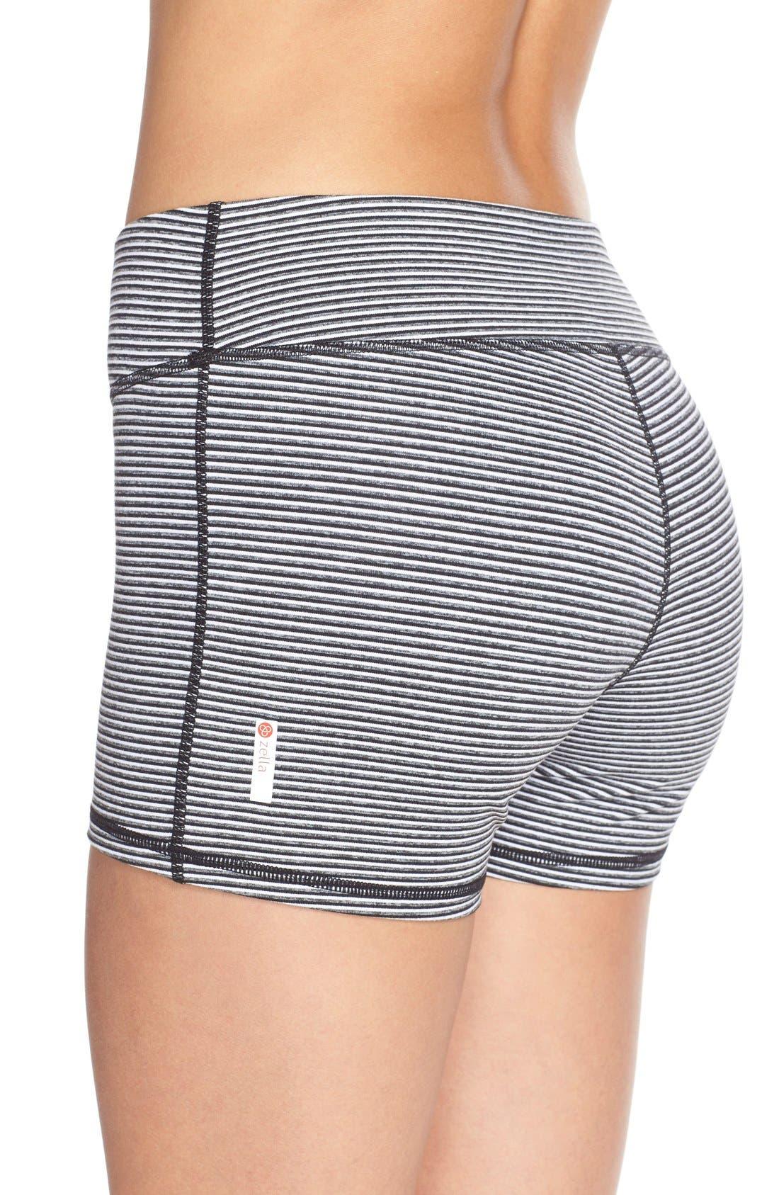 Alternate Image 4  - Zella 'Haute' Compression Shorts