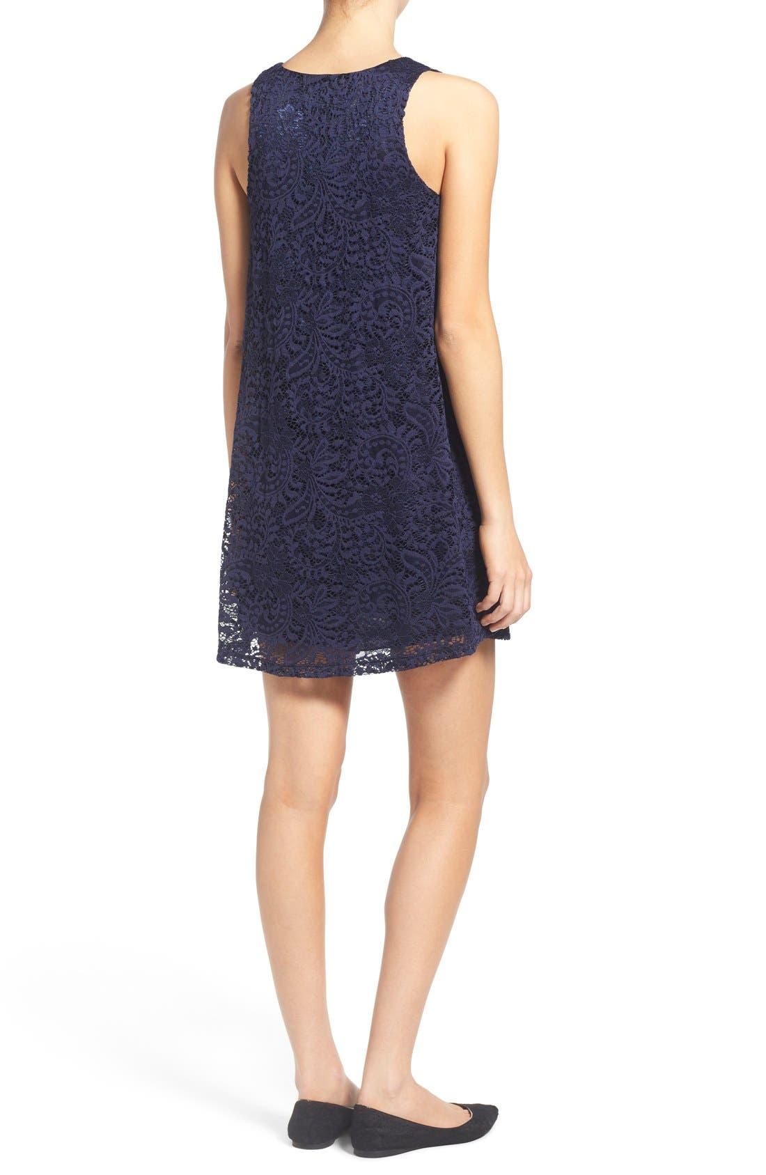 Alternate Image 2  - Everly Lace Shift Dress