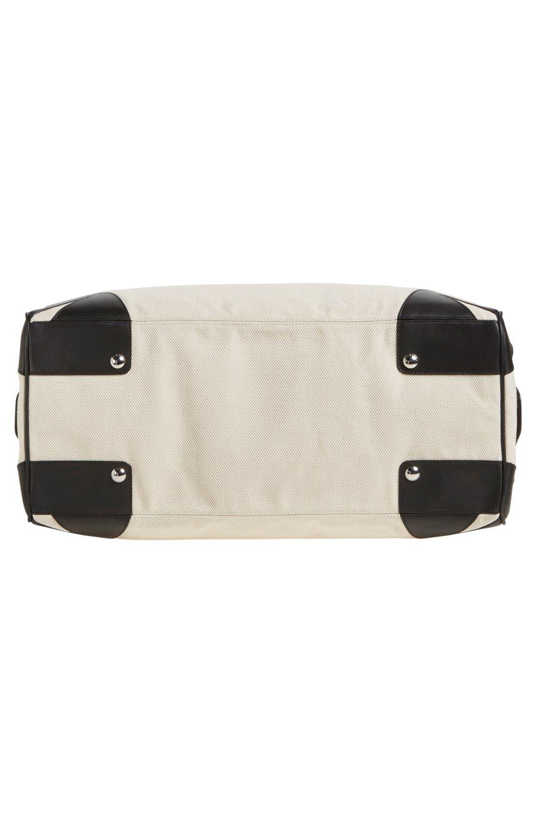Alternate Image 5  - rag & bone 'Flight' Canvas Duffel Bag