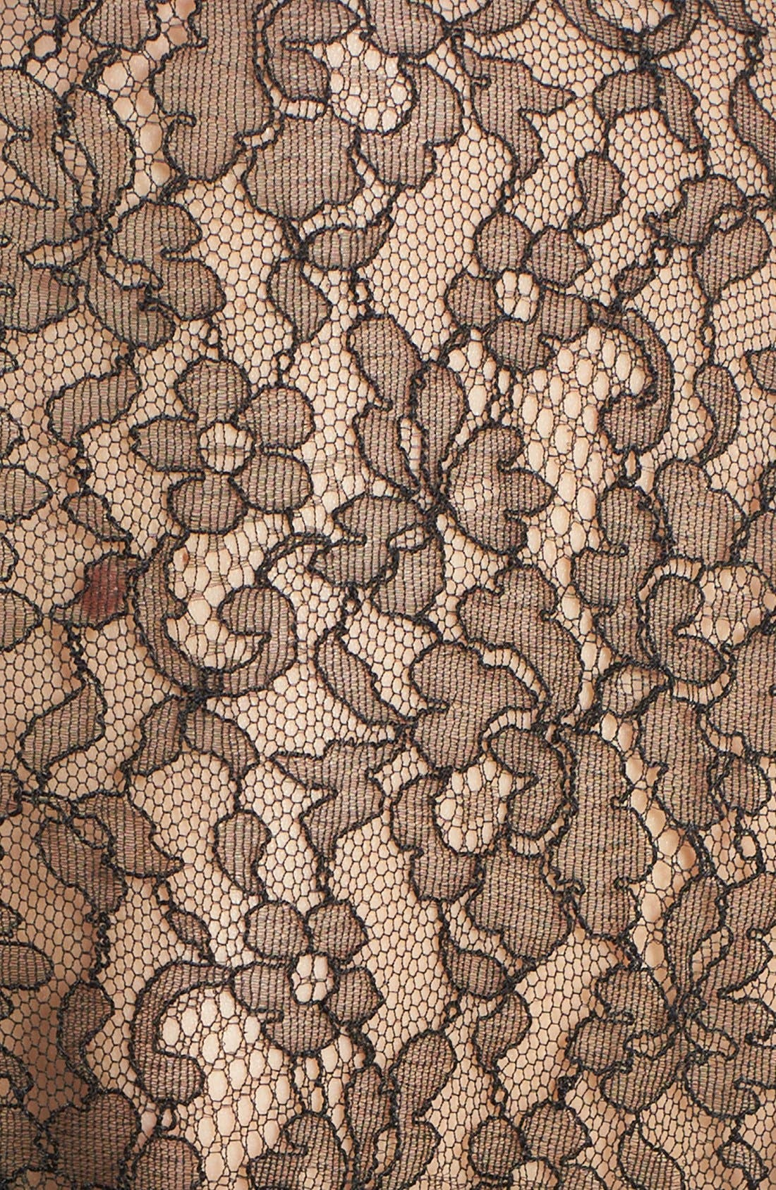 Alternate Image 4  - Michael Kors Tie Neck Chantilly Lace Blouse