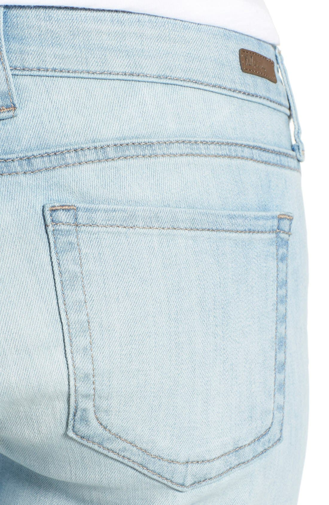 Alternate Image 4  - KUT from the Kloth 'Catherine' Stretch Slim Boyfriend Jeans (Artistic)