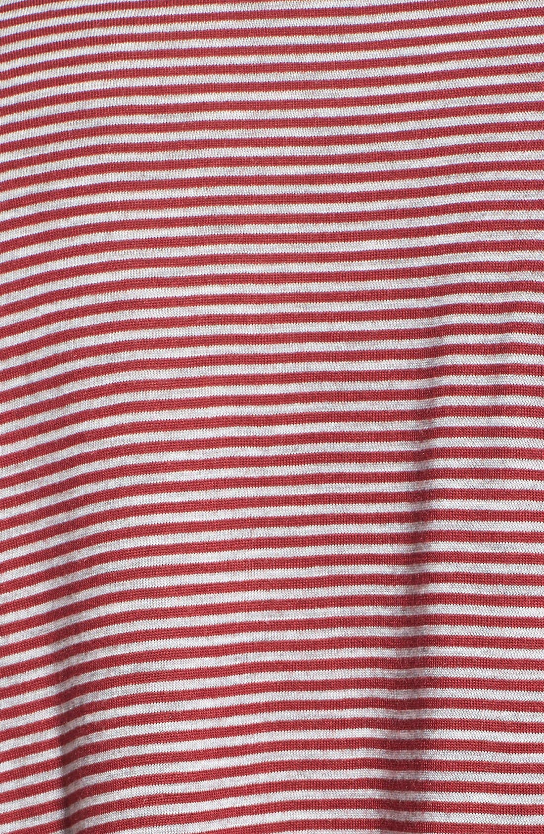 Alternate Image 5  - BP. Stripe Long Sleeve Pocket Tee