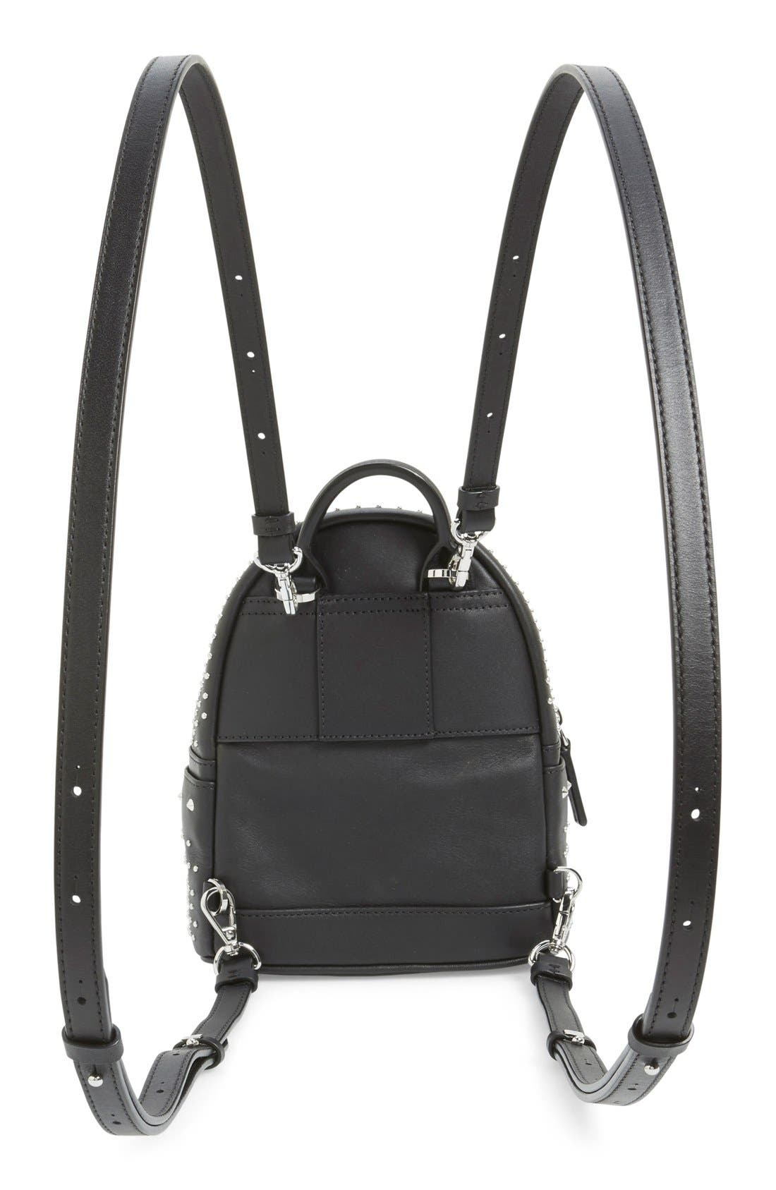 Alternate Image 3  - MCM 'X-Mini Stark - Bebe Boo' Studded Leather Backpack
