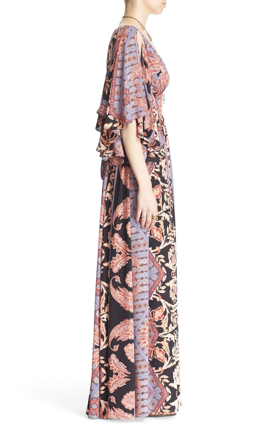 Alternate Image 3  - Free People 'Fern' Print Maxi Dress