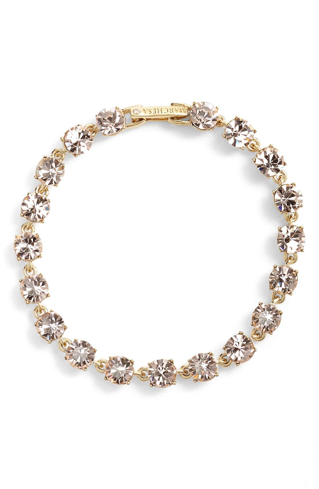 Alternate Image 1 Selected - Marchesa Crystal Line Bracelet