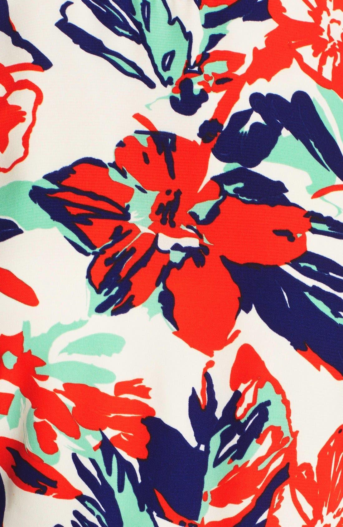 Alternate Image 5  - Adelyn Rae Print Skort Romper