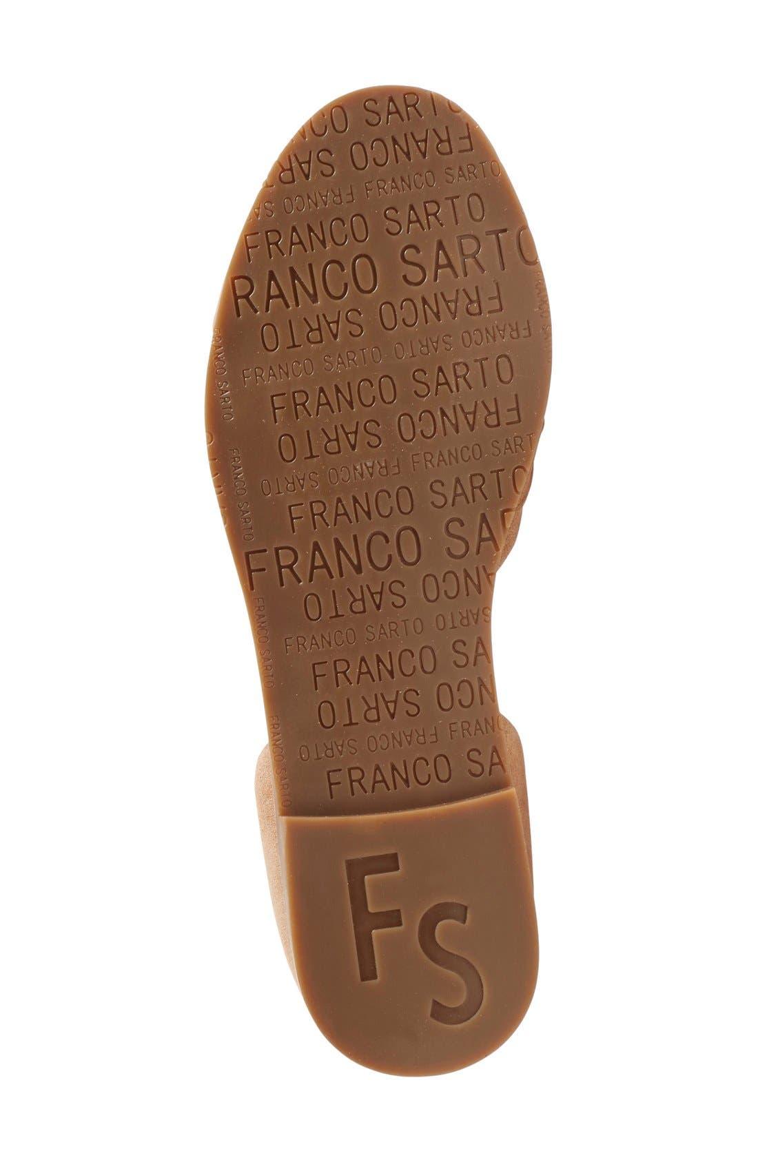 Alternate Image 4  - SARTO by Franco Sarto 'Vala' Flat Sandal (Women)