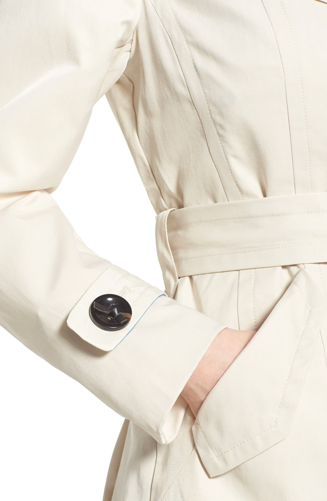 Alternate Image 4  - Nanette Lepore Twill Trench Coat