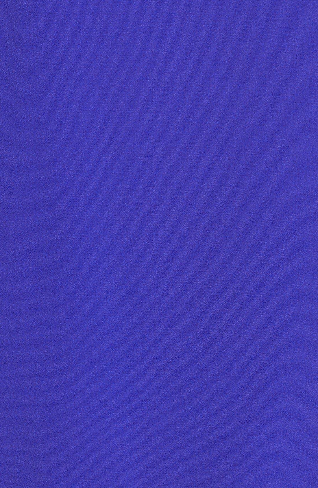Alternate Image 6  - Marc New York Short Sleeve Crepe Shift Dress