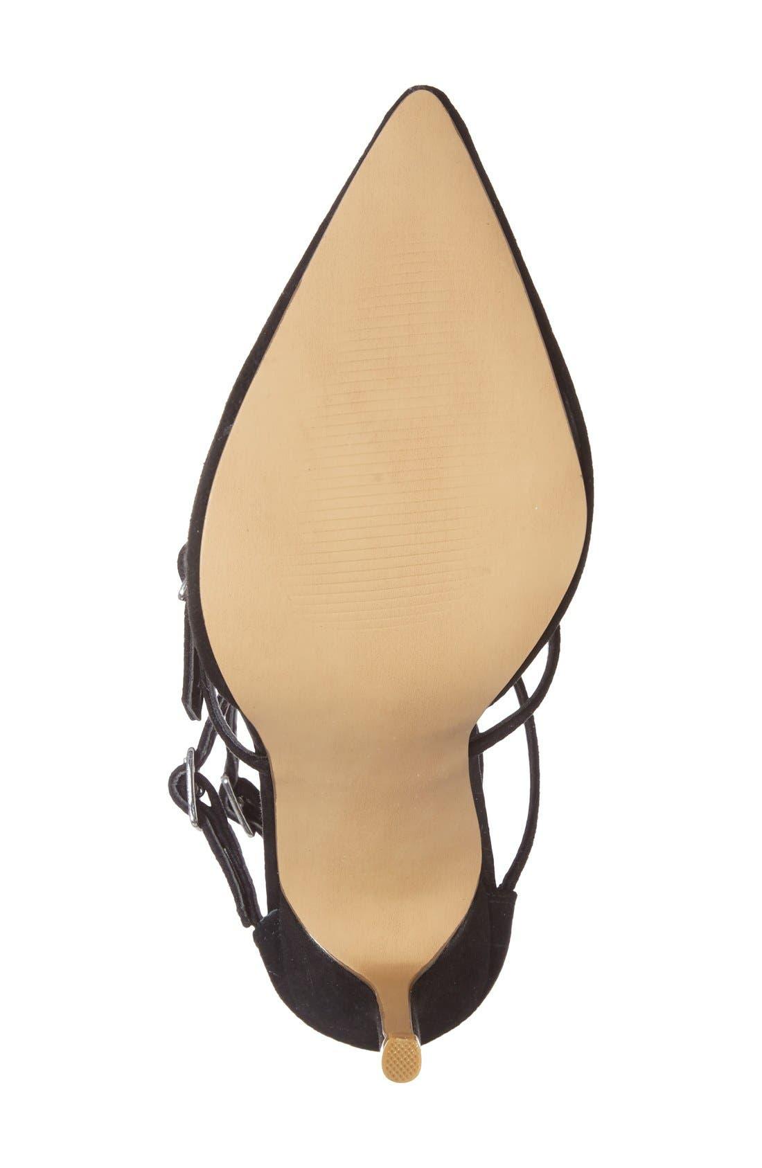 Alternate Image 4  - Topshop 'Giselle' Buckle Sandal (Women)