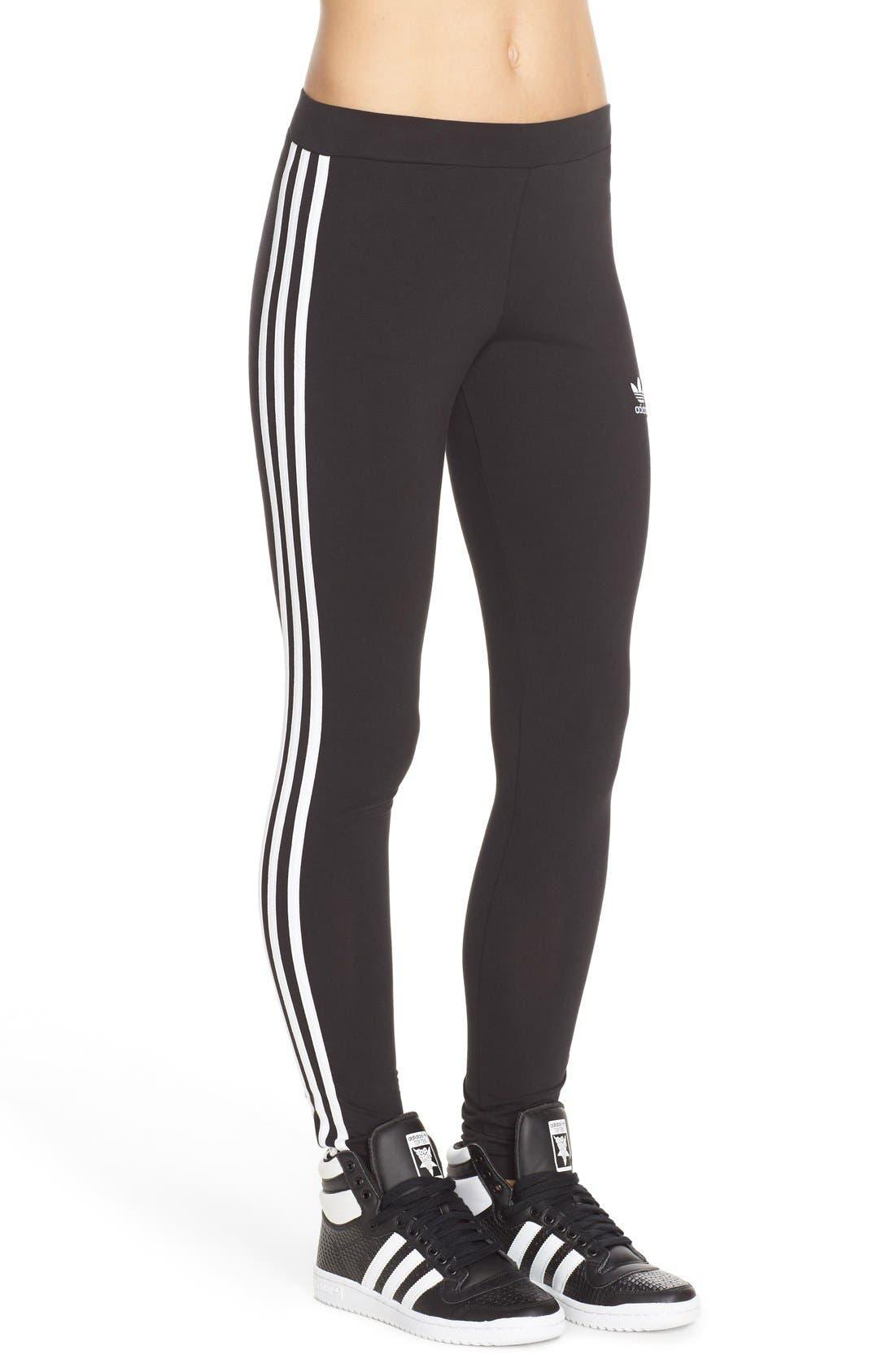 Alternate Image 3  - adidas Originals Logo Leggings