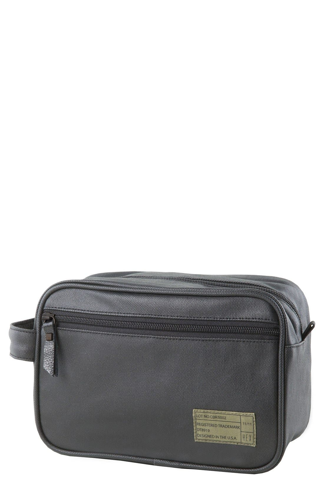 HEX Coated Canvas Travel Kit