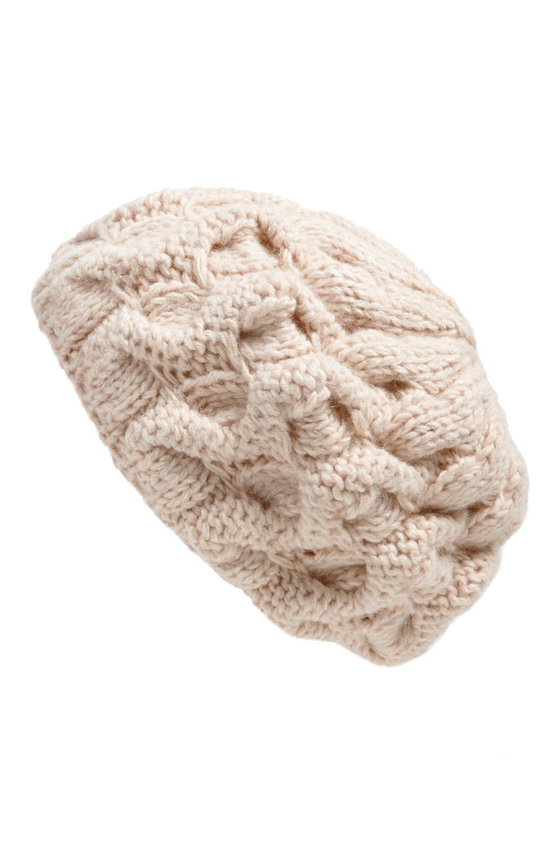 Main Image - Free People 'Snow Bird' Chunky Knit Beret