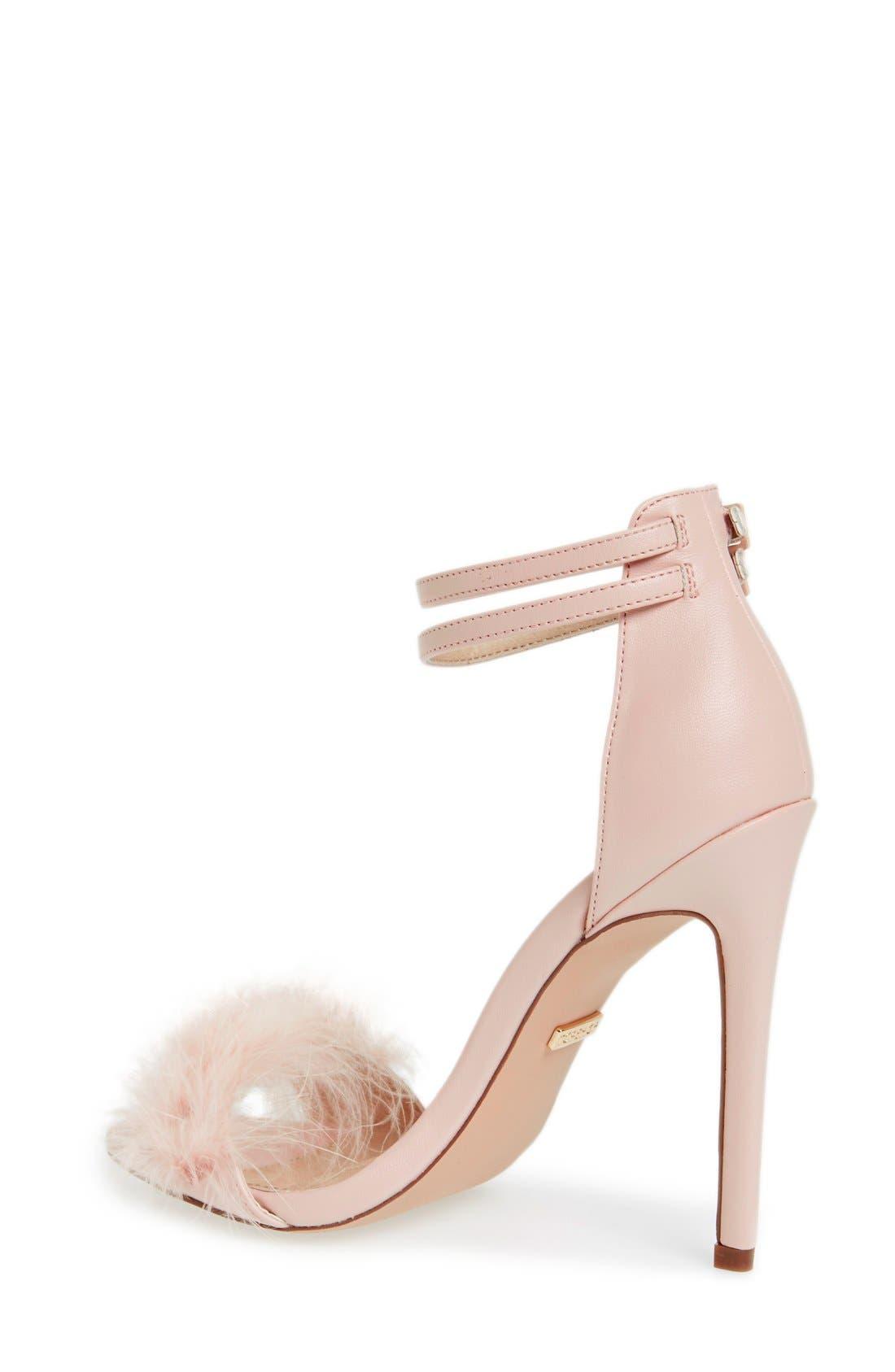 Alternate Image 2  - Topshop 'Reese' Feather Sandal (Women)
