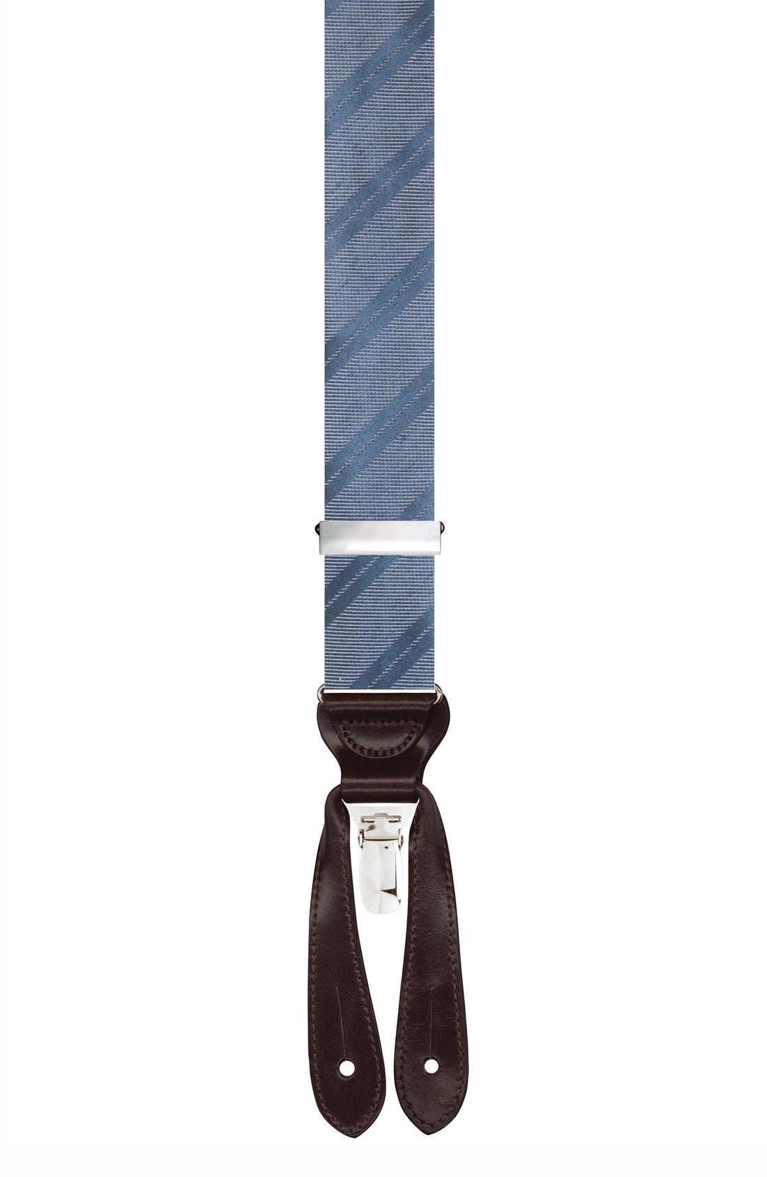 TRAFALGAR 'Modena' Silk Suspenders