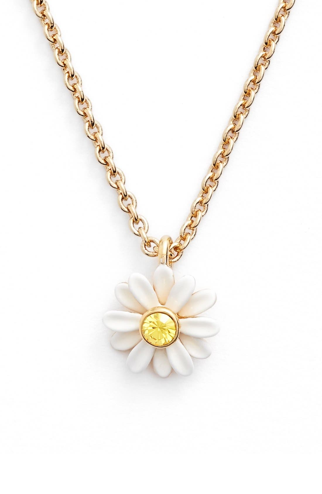 Alternate Image 1 Selected - kate spade new york 'dazzling daisies' pendant necklace