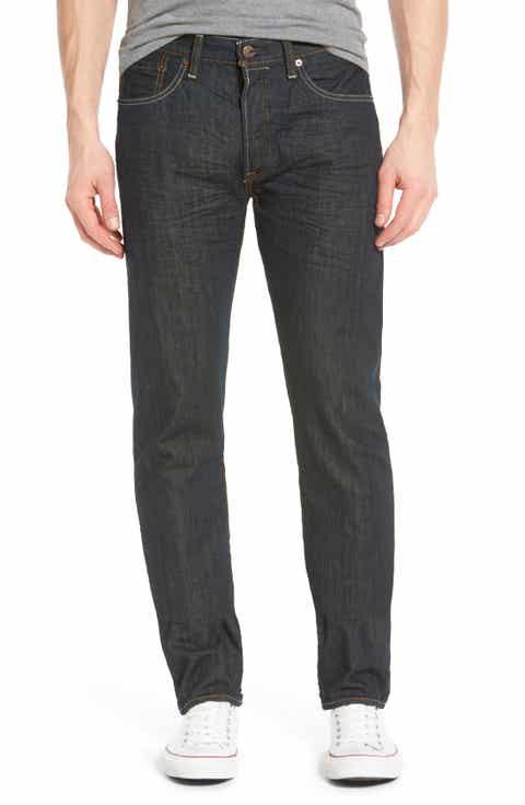 Levi's® Red Tab™ '501®' Straight Leg Jeans (Dimensional Rigid Blue)