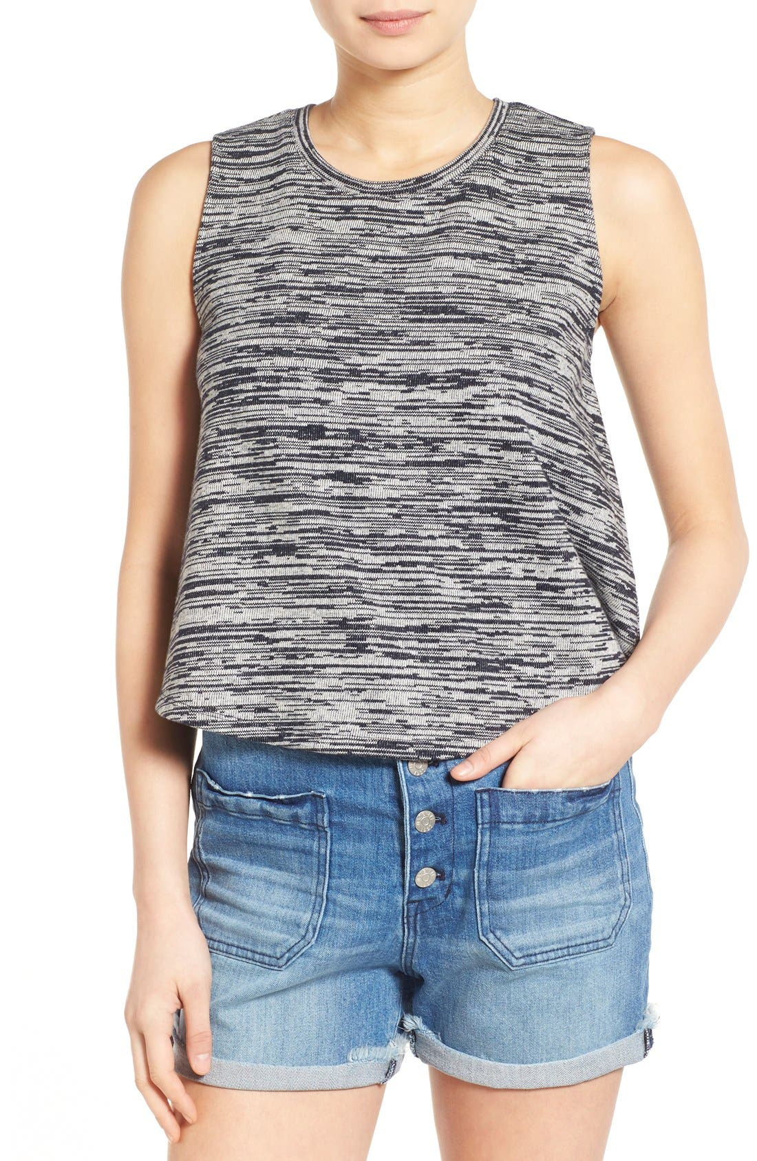 Main Image - Madewell 'Marty' Space Dye Tank