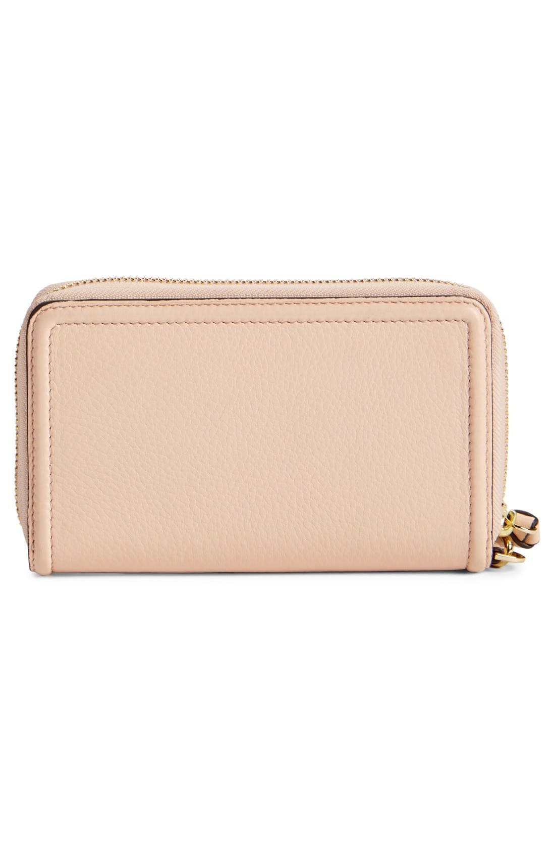 Alternate Image 3  - Tory Burch 'Thea' Leather Wristlet