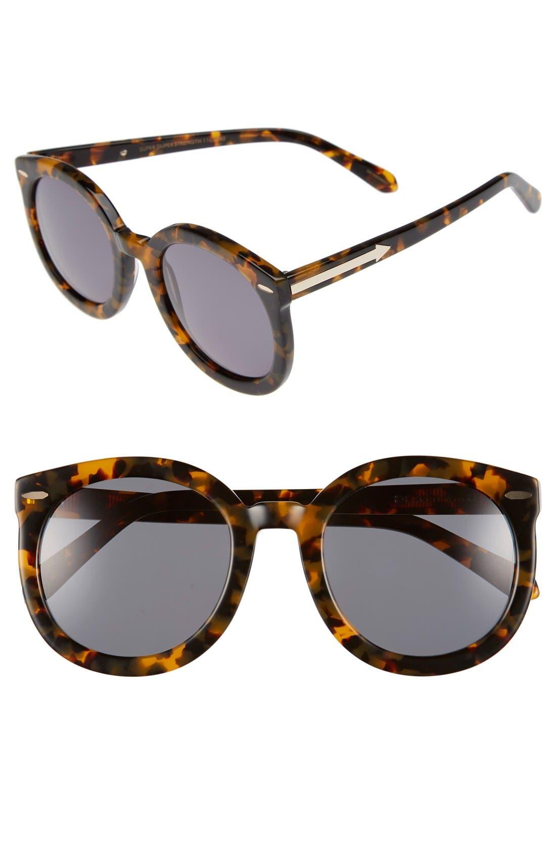 Main Image - Karen Walker Super Duper Strength 55mm Sunglasses